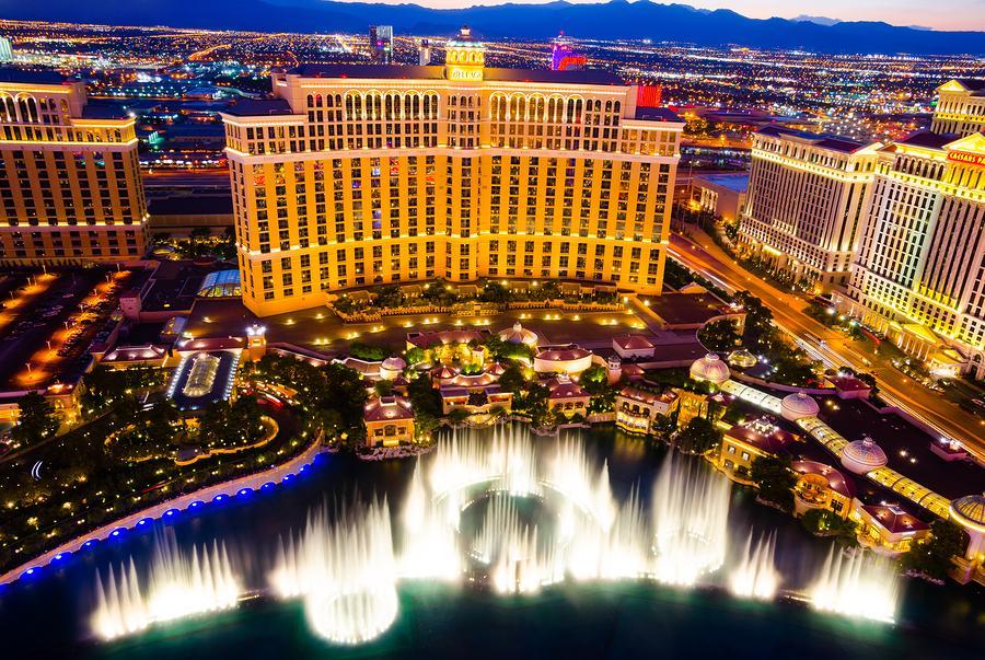 The Bellagio Casino, Las Vegas
